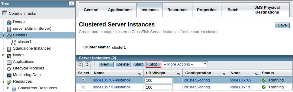 2757-1-stop-clustered-server-instance